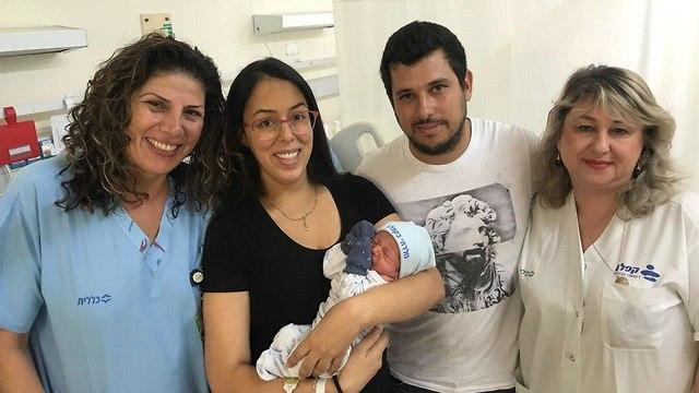 התינוק הראשון בקפלן רחובות שנת תשע