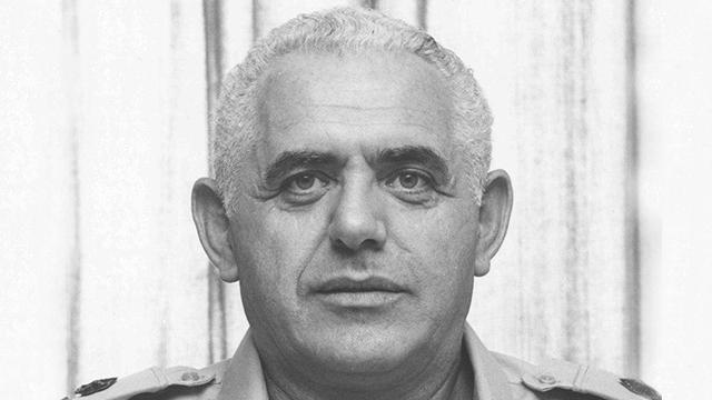 אלוף נחמיה קין מלחמת יום הכיפורים (צילום: דובר צה