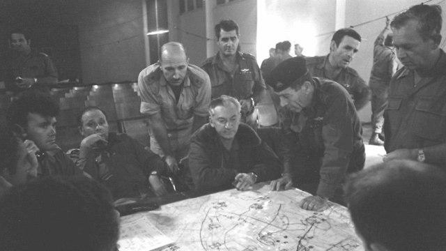 IDF Northern Command, Yom Kippur War (Photo: Defense Ministry Archives)