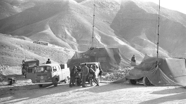 Sinai Desert, Yom Kippur War (Photo: Defense Ministry Archives)