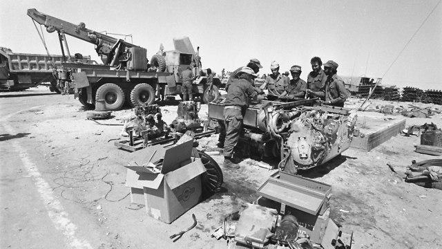 Yom Kippur War (Photo: Defense Ministry Archives)