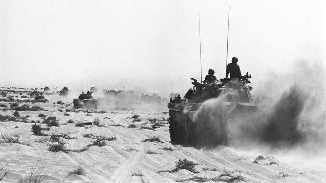 קו בר לב מלחמת יום הכיפורים 1973 (צילום: באדיבות ארכיון צה