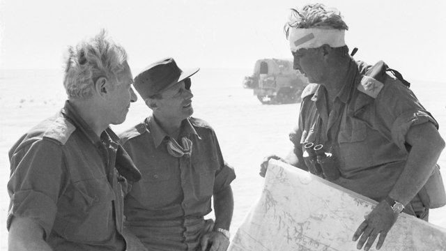 קו בר לב מלחמת יום הכיפורים 1973 (צילום: דובר צה