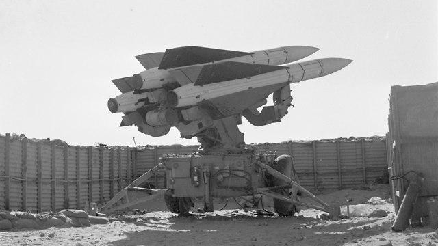 Bar Lev Line (Photo: Defense Ministry Archives)