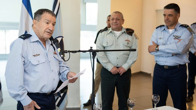 Brig. Gen Giora Epstein at the ceremony (Photo: IDF Spokesperson's Unit)
