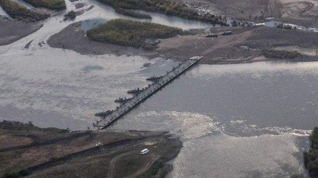 גשר ברוסיה (צילום: AFP)