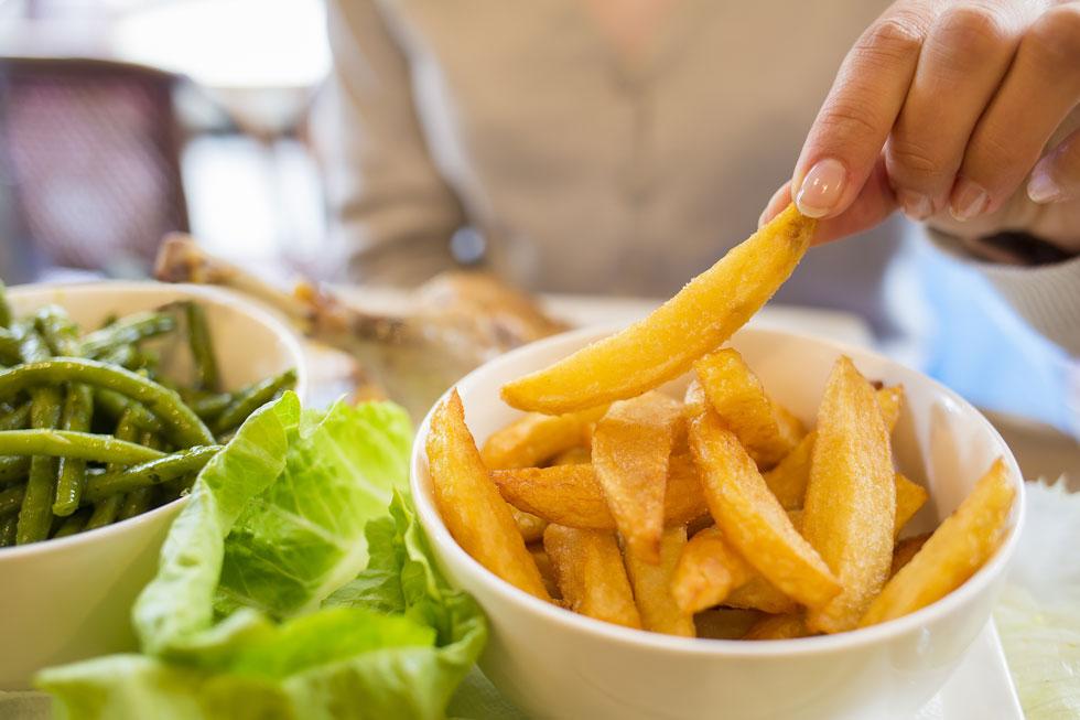 רוצים לאכול פחות? תאכלו תפוחי אדמה, אבל לא כאלה (צילום: Shutterstock)