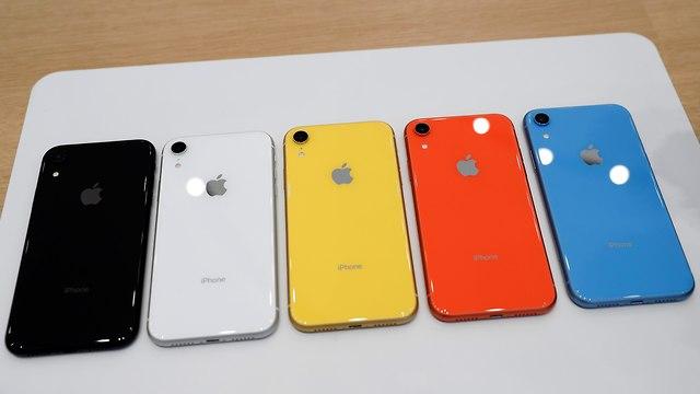 מכשירי אייפון Xr (צילום: רויטרס)