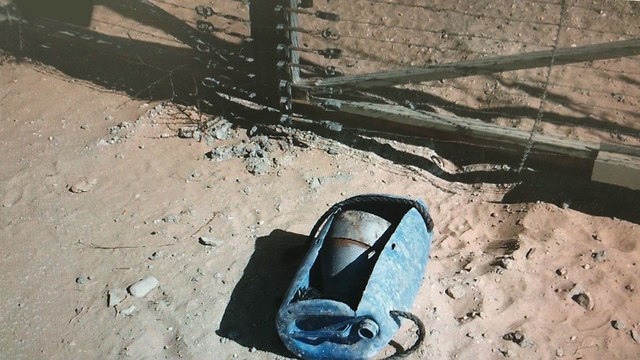 Planted bomb  (Photo: IDF Spokesperson's Unit)