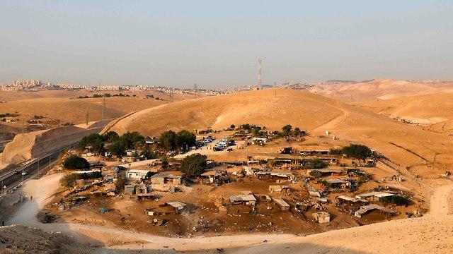 Khan al-Ahmar (Photo: AFP)