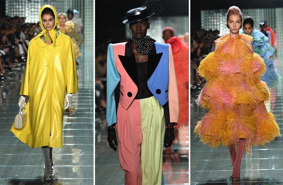 באיחור של 90 דקות, נפתחה התצוגה של מארק ג'ייקובס, שחתמה את שבוע האופנה בניו יורק. על המסלול: קולקציה שהעלתה את השאלה האם הוא מפגין את כוחו הבלתי מעורער, או לועס את סגנונו המוכר? (צילום: Slaven Vlasic/GettyimagesIL)