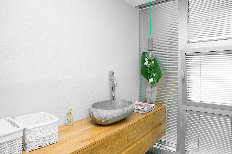 חשיבה גם על הפרטים בחדר האמבטיה (צילום: ענבל מרמרי)