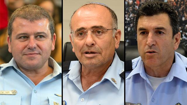 Edri, Bitan, Halevy (L-R) (Photo: Ohad Zwigenberg, Yoav Dudkovich, Herzl Yosef)