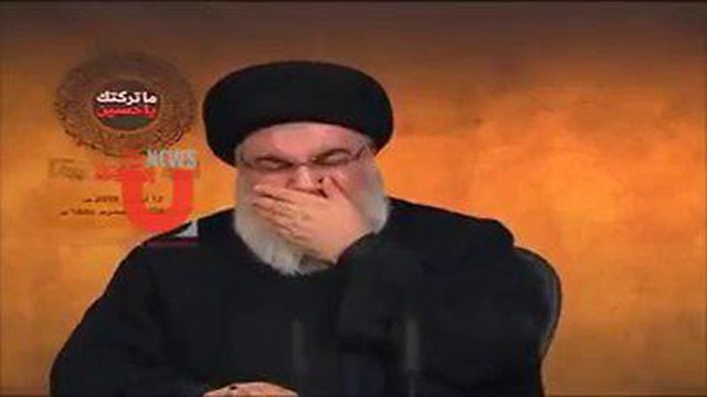Hassan Nasrallah bursts into tears