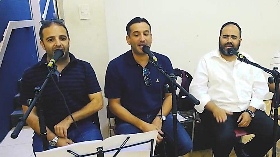 חיים ישראל, משה לוק ומימון (מני) כהן (צילום: מייק אדרי)