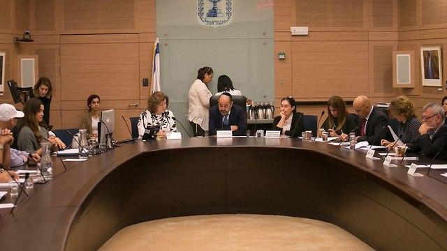 ועדת הכנסת דיון ב הטרדות מיניות תנועת הצופים (צילום: אוהד צויגנברג)