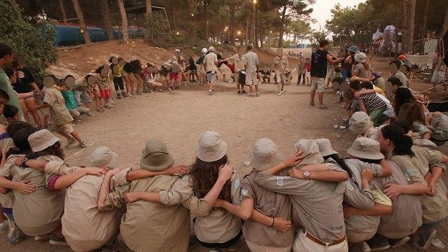 תנועת הצופים  (צילום: אלעד גרשגורן )