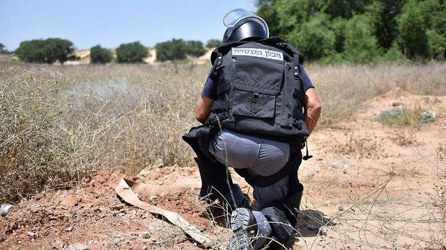 חבלן משטרה (צילום: דוברות המשטרה)