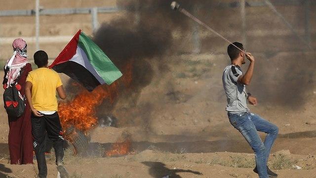 Gaza protests (Photo: AFP)