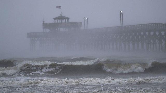 הוריקן פלורנס בניו ברן (צילום: gettyimages)