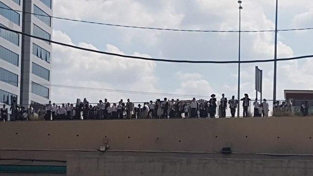 Ultra-Orthodox protest against Shabbat desecration