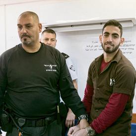 עומאר אל-עבד, רוצח בני משפחת סולומון   צילום: אוהד צויגנברג