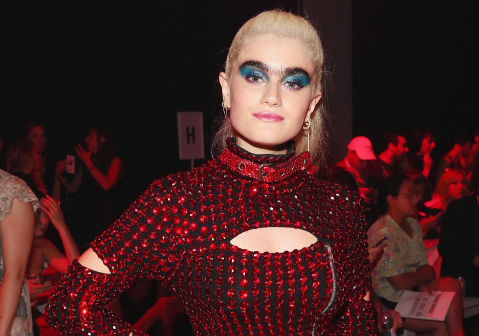 """סופיה האג'יפנטלי בשבוע האופנה בניו יורק. """"הייתי תמיד הקורבן, אבל הבנתי שאני צריכה לצמוח מתוך המקום הזה""""  (צילום: Astrid Stawiarz/GettyimagesIL)"""