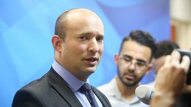 Education Minister Bennett (Photo: Marc Israel Sellem)