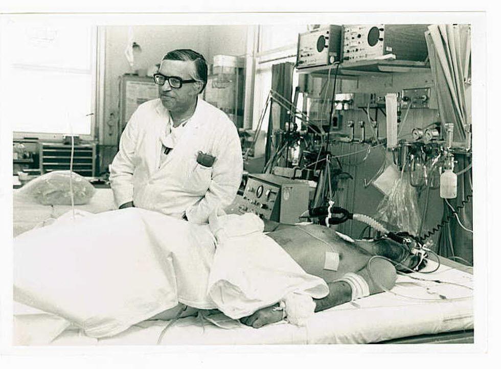 בית החולים הדסה בזמן המלחמה (באדיבות אוסף הדסה בארכיון הציוני המרכזי)