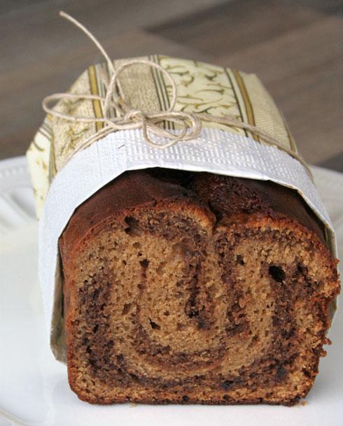 עוגת שיש נוטלה-טחינה (צילום: ילנה ויינברג)
