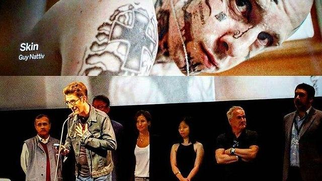 גיא נתיב זוכה בפרס איגוד המבקרים הבינלאומי עם סרטו Skin ()