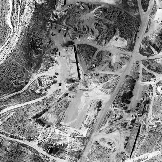 זה מה שהלוויין רואה מלמעלה. אופק 11 מתעד טנקים סוריים