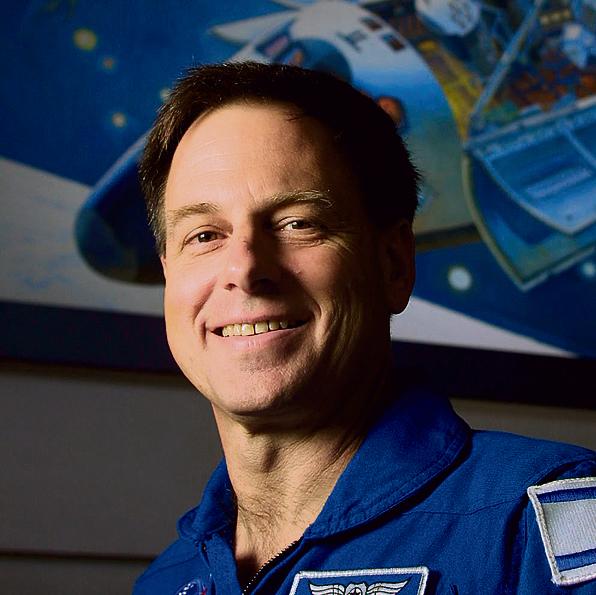 אילן רמון. יועד להיות ראש מינהלת החלל במשרד הביטחון | צילום: AP