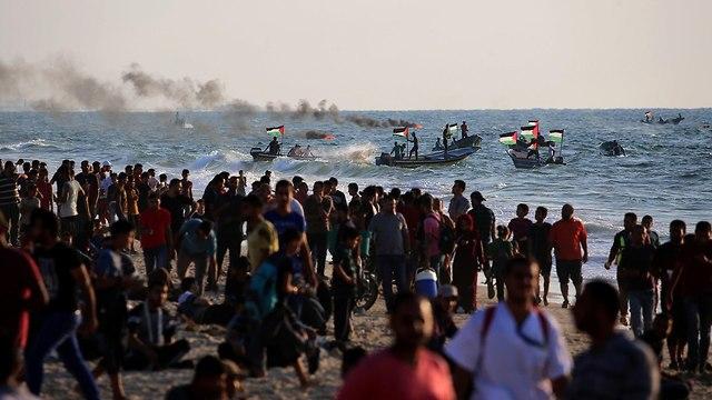 Hamas maritime provocations (Photo: AFP)
