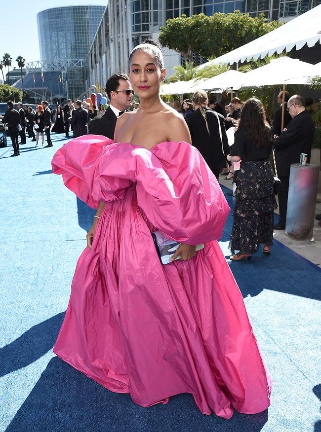 טרייסי אליס רוס בשמלה של ולנטינו (AP)
