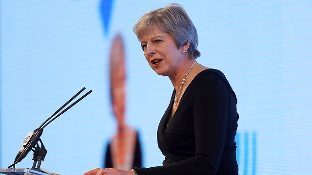 British PM Theresa May speaks out against anti-Semitism in the country (Photo: AP) (Photo: AP)