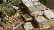 כמעט אסון: קורת בטון קרסה בבניין ביבנה