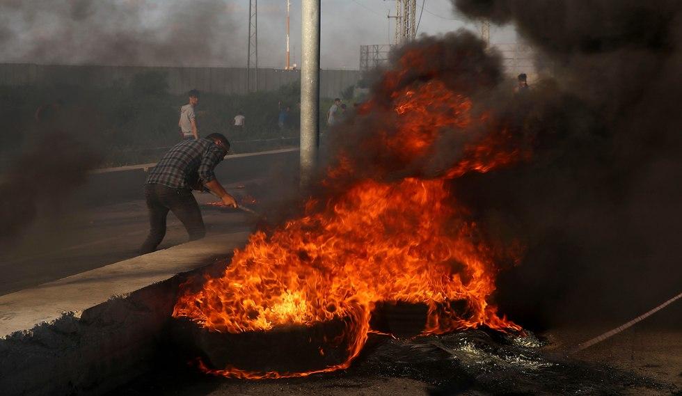 Gaza protests (Photo: AP)