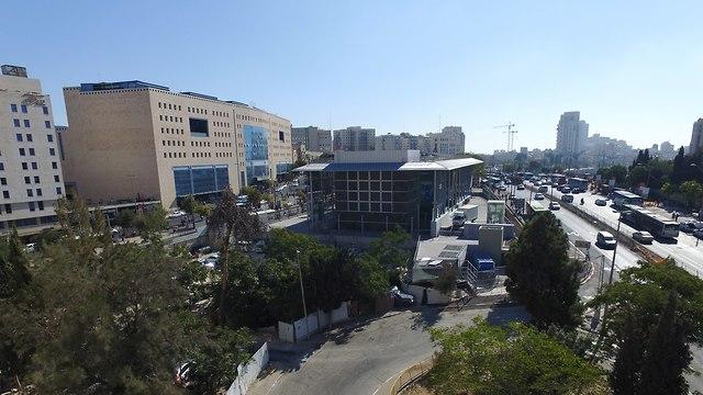 צילום רחפן פתיחת קו הרכבת המהירה מירושלים לתל אביב (צילום: משה מזרחי)