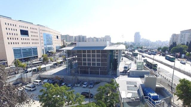 Новый вокзал в Иерусалиме. Фото: Моше Мизрахи