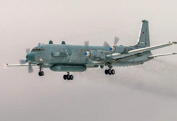שהסורים ייזהרו כשהם יורים: מטוס רוסי מהדגם שהופל | צילום: אי־פי