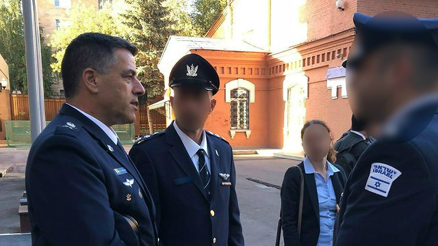IAF chief in Moscow (Photo: IDF Spokesmans Unit)