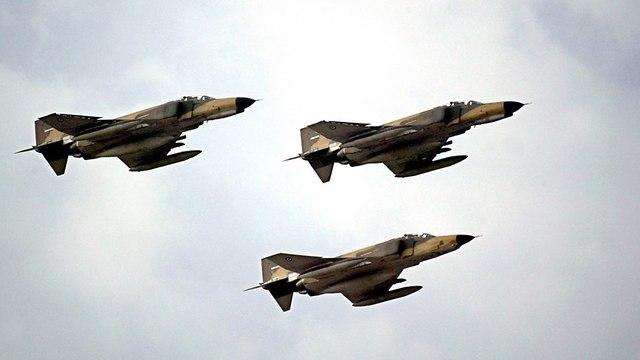 Photo de fichier des avions iraniens
