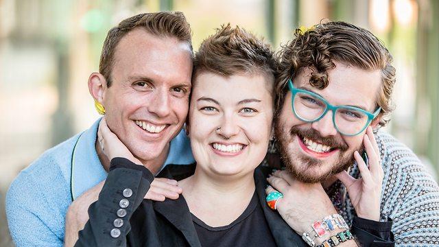 שלושה קווירים חמודים (צילום: Shutterstock)