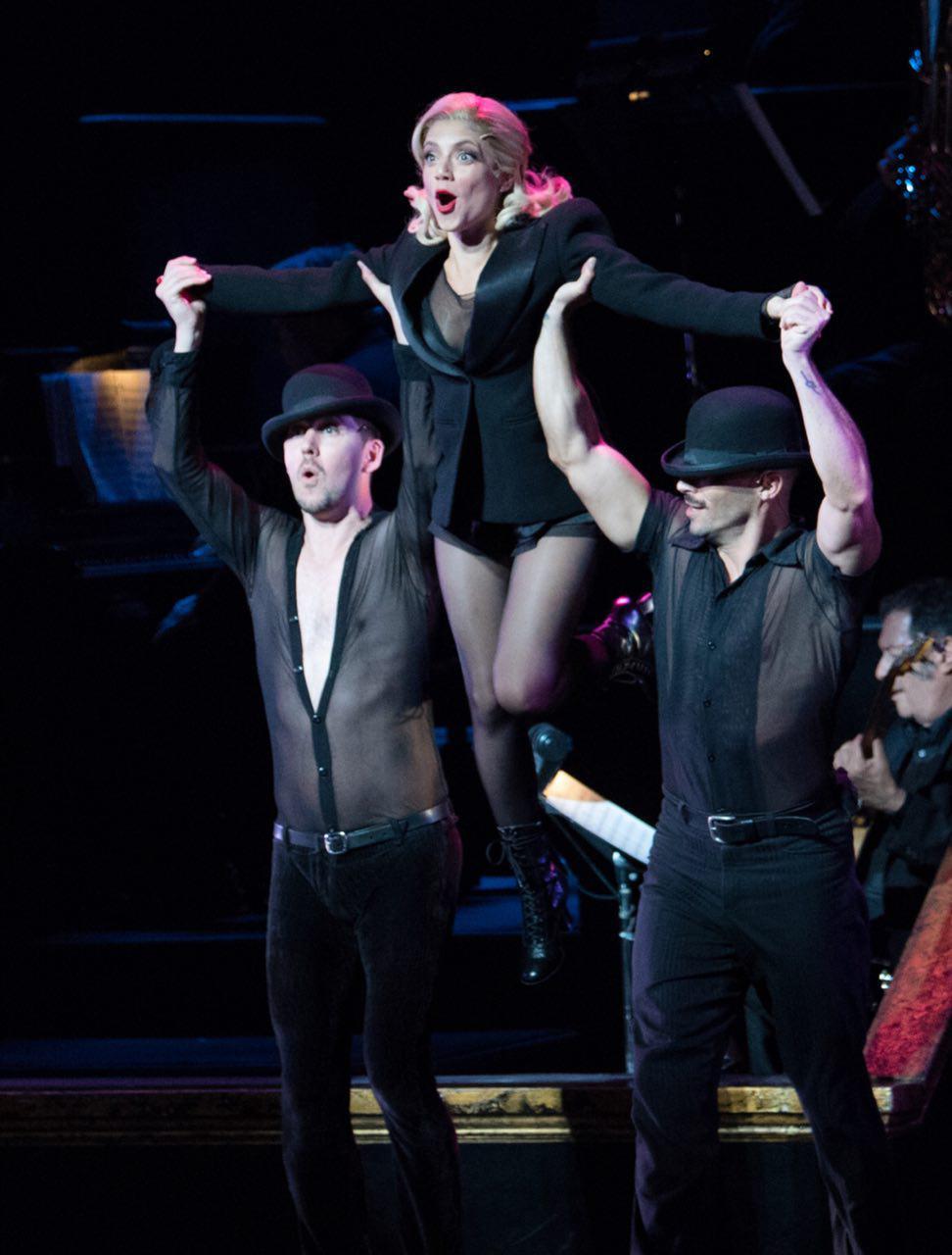 שירי מימון בברודוויי שיקגו (צילום: אלקסי רוזנפלד)