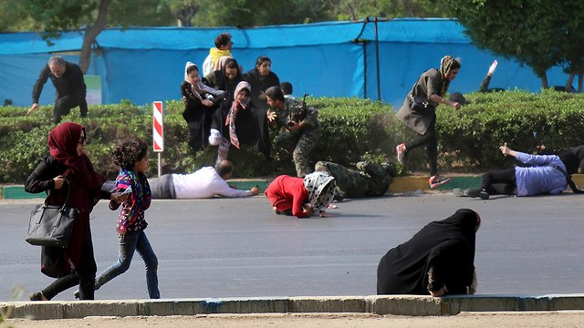 Terror attack on military parade in Iran  (Photo: AP)