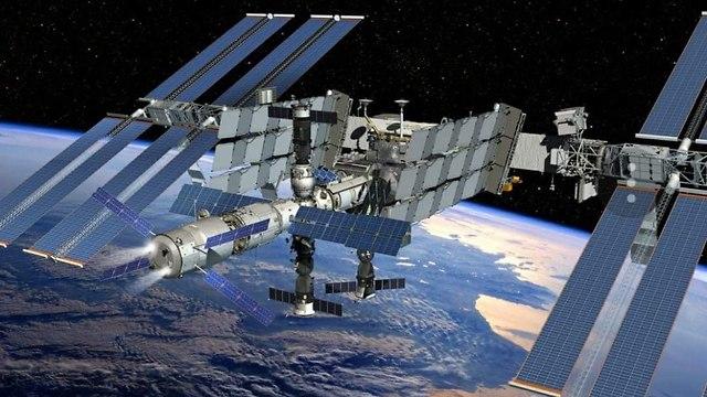 תחנת החלל הבינלאומית (צילום: נאס