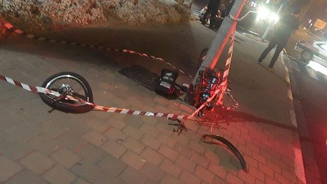 זירת התאונה ()
