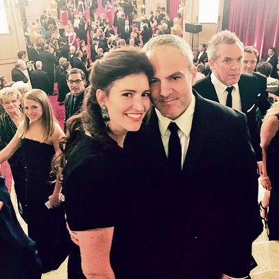 """חלום מהסוג שלא אמור להתגשם"""". הזוג בטקס האוסקר בו היו מועמדים לפרס הסרט הקצר"""