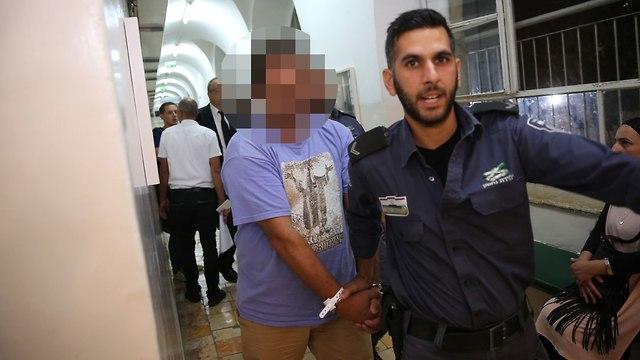הארכת מעצר נהג דורס ירושלים (צילום: אלכס קומויסקי)